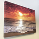 Seaside Scenery Frameless Canvas Prints For House Decoration