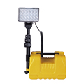 72W bright rechargeable cordless portable mining light fire rescue light