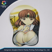 Gaming Silicone 3D ass mouse pads