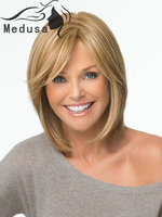 Medusa Healthy wig Short straight Charming Synthetic Wig for Woman