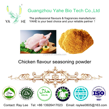 Flavour factory bulk Chicken flavor wholesale healthy seasoning powder products for snacks