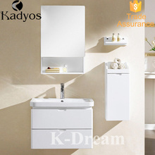 New bathroom cabinet with towel rack and mirror vanity KD-BC006W