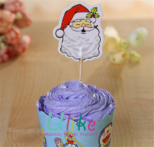 hight quality christmas cake decorative Wholesale Craft Supplies, Cake Decoration