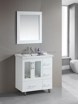 middle east style floor mounted PVC bathroom cabinet 46148