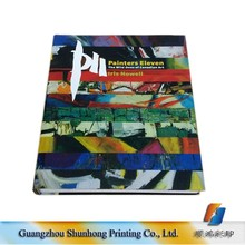 Wholesale Sewn Binding Business Paper Catalog Overseas Custom Cheap CD Hardcover Book Printing