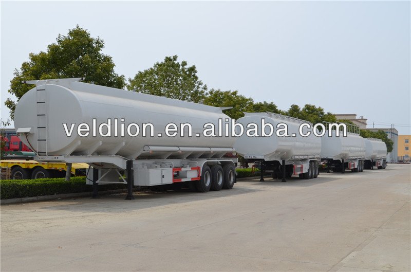 Economic Price 3 axles widely used Liquid Oil Tank Semi Trailer