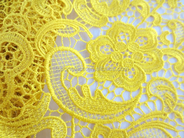 2016 red crochet lace african lace fabrics guipure lace fabrics/ guipure lace wedding dress