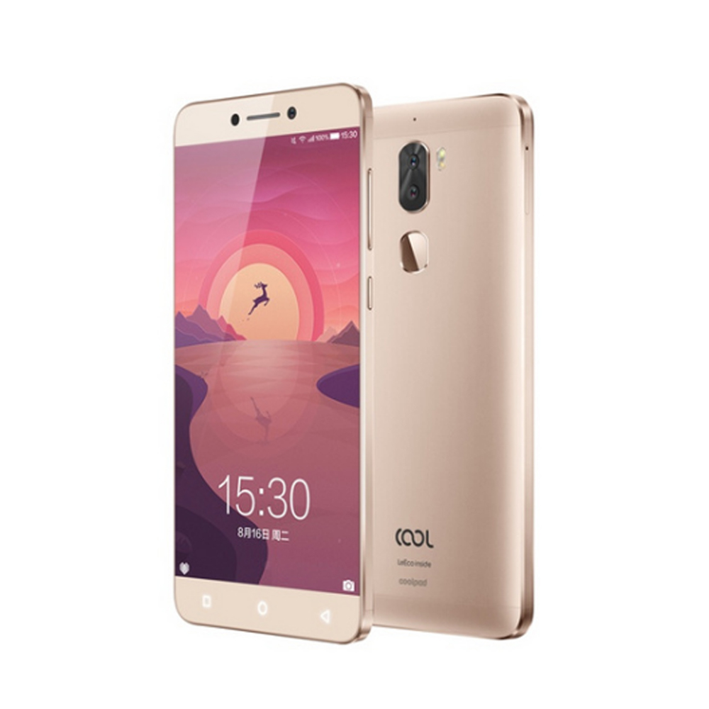 Original LeEco Cool1 Dual Gold 3GB RAM 32GB ROM Dual 13MP Rear Camera Mobile Phone