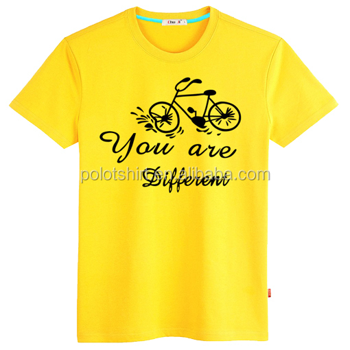 Yellow T Shirt Supplier Malaysia Clothing Factory Buy T