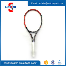 Reliable and cheap white black tennis racket with best quality