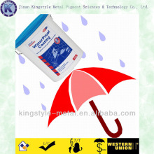 Flake Waterproof Aluminum Paste Paint
