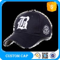 Wholesale New Style Custom Baseball Embroidered Hats High Quality Unisex Flexfit Baseball Caps