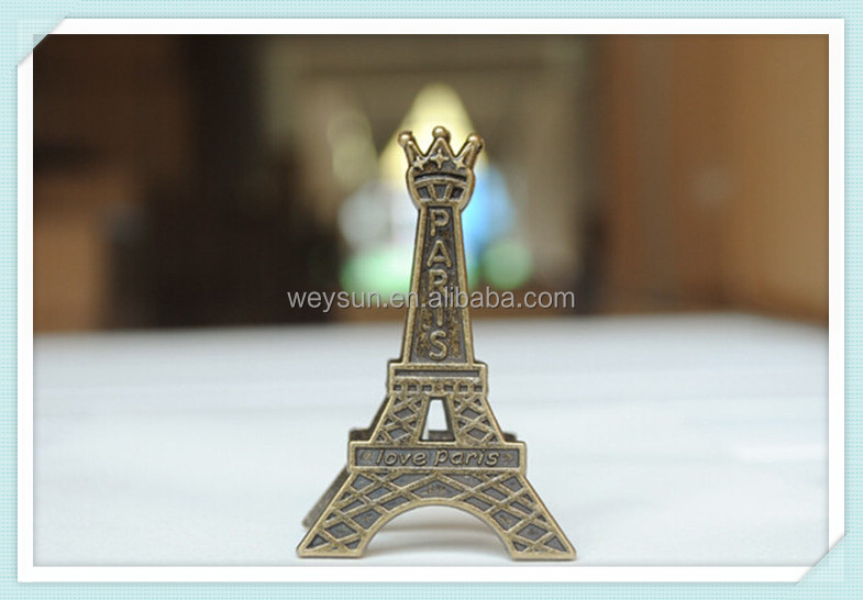 Eiffel Tower Desktop Memo Clip Photo Postcard Holder