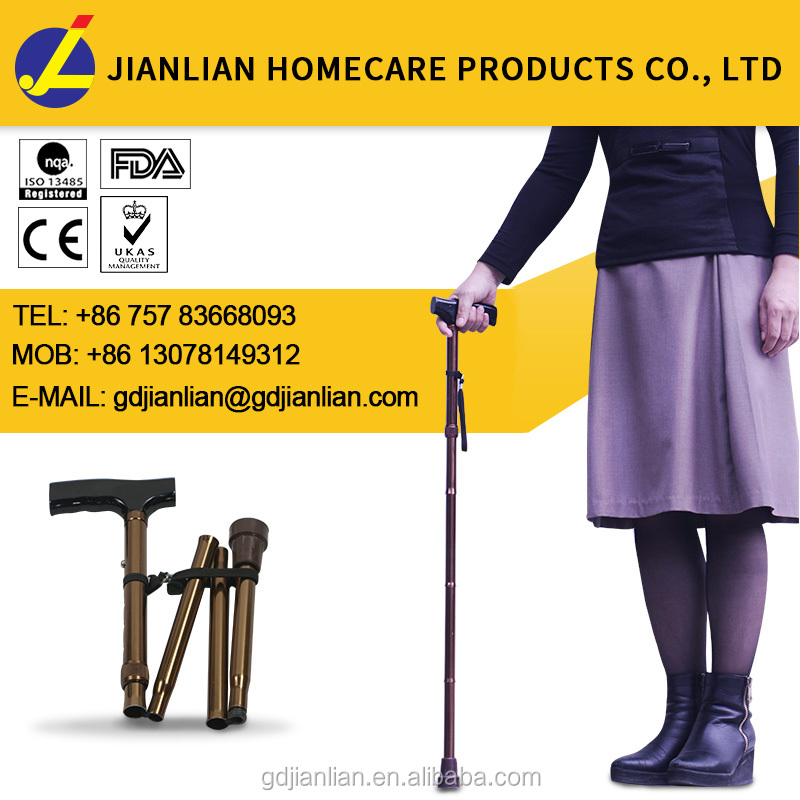 brass walking stick handles for disabled JL9276L