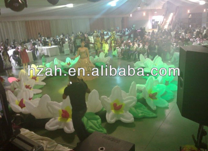 Lily Inflatable Flower for Wedding Ceremony Decoration