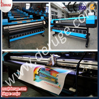 3.2m wide small eco solvent printer with dx7 head bajo precio