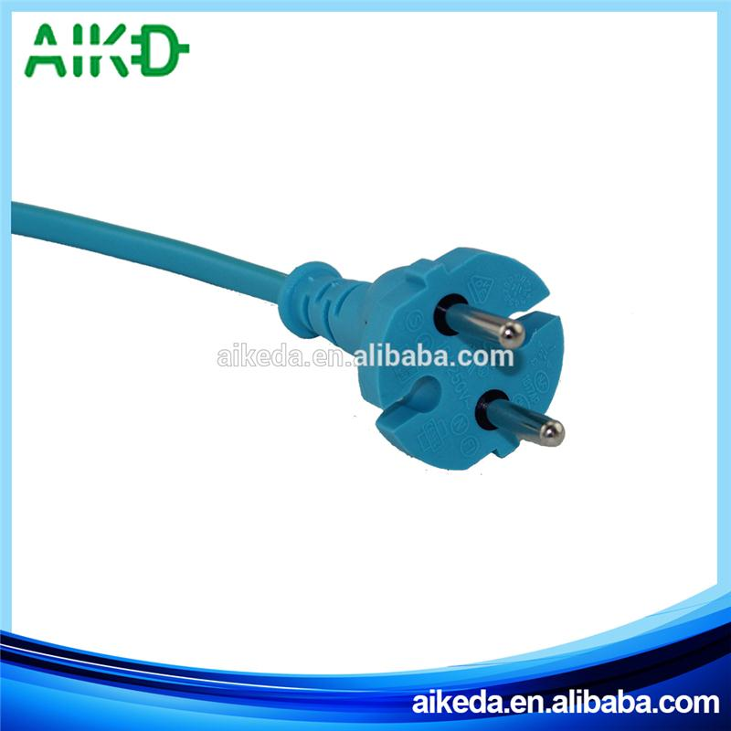 Professional Multifunctional Plastic Ul Certified 3 Pin Power Plug