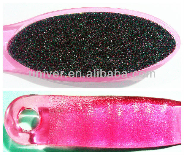New Hot Sell 2-Sides Plastic Salon Pedicure Foot File