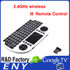 Mini I8 Wireless Mini Keyboard with USB 2.4GHz Air Fly Keyboard for TV Box