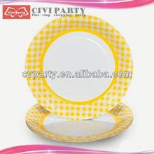 hot Birthday Party Theme Packs Plates catering paper products unique paper dish
