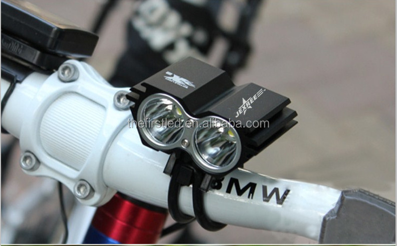 JEXREE Cree XM-L2 1800LM waterproof design Led rechargeable <strong>bicycle</strong> police <strong>lights</strong>