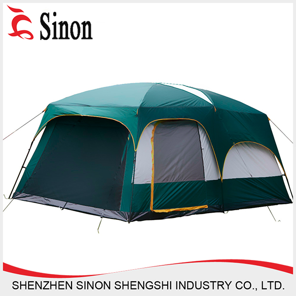 China supplier luxury easy up family outdoor safari heated tent winter