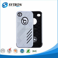 Guangzhou Factory Price Mobile Phone Case Rugged 2 in 1 Hybrid Combo Case for iphone 4