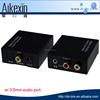 Digital to Analog Stereo Audio Converter Adapter - Digital Coaxial or Optical SPDIF into Stereo 3.5mm Jack or L/R RCA audio out