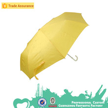 PU material curve handle 3 folding colour changing umbrella