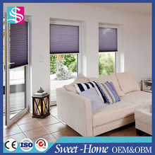 Modern Window Lace Pleated Decorative Window Blinds