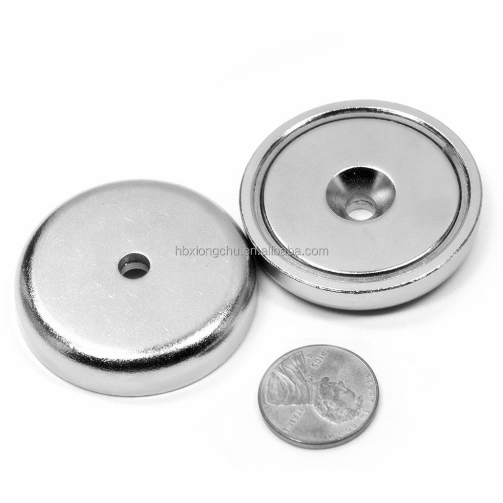 n35-n52 Wholesale neodymium Magnet Strong Power Mounting Cup Pot Magnet