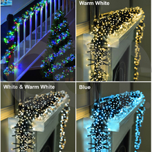 CET 2018 New Decor USB LED Solar Christmas Cluster Light