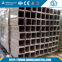High quality galvanized square steel pipe with factory price
