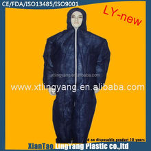 Disposable chemical coverall