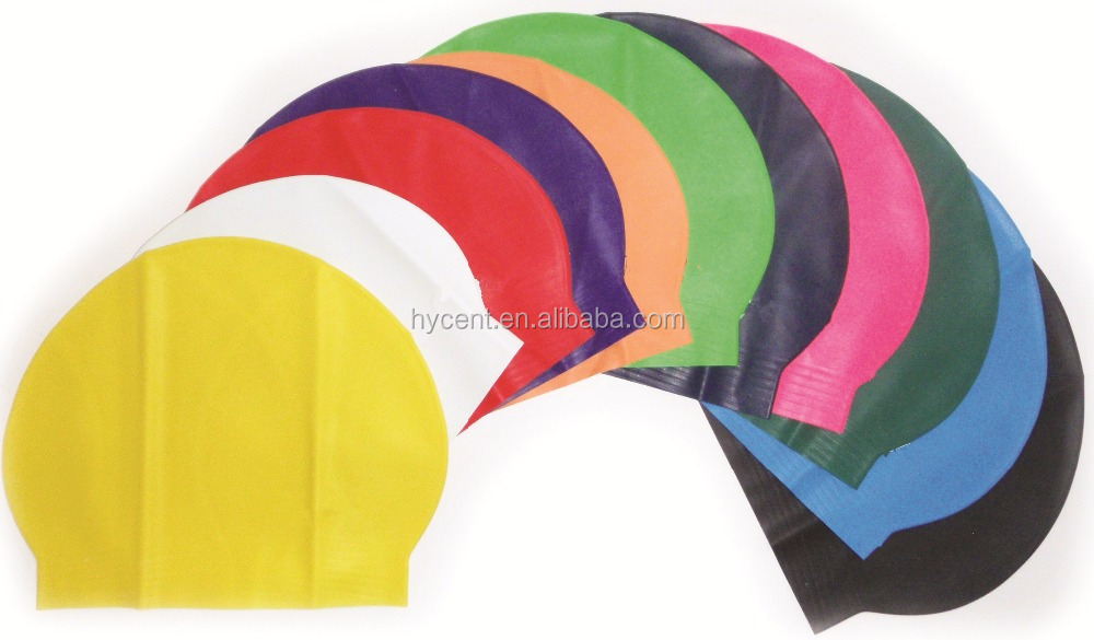 Wholesale Custom Logo Printed Latex Swimming Cap
