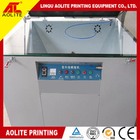 screen vacuum exposure machine for making screen frame plate
