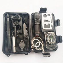 Cost-effective survival kit 10-in-1 edc survival kit Outdoor survival Kit for Camping Hiking Travelling Adventures