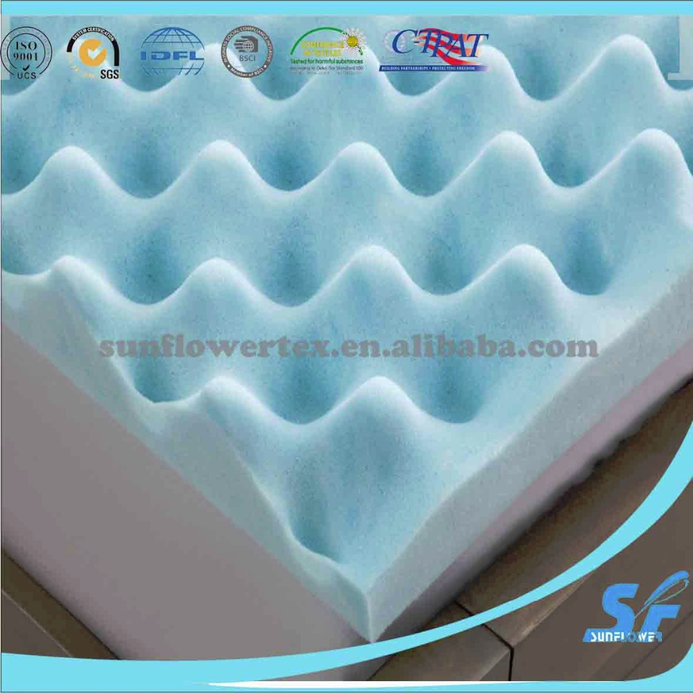 Deluxe Egg Crate Mattress Topper 5 CM Foam Underlay Protector QUEEN Size