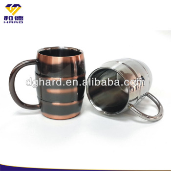 Cheap Double Wall Stainless Steel Beer Mug Cup With Handle
