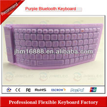 silicon wireless bluetooth keyboard case for ipad2