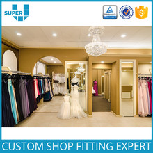 Free Customize Beautiful Fashion Wedding Dress Shop Decor