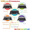 HDMI RTSP Encoder IPTV H.265 HDMI Streaming Encoder To IP Audio Video Or Youtube Wowza
