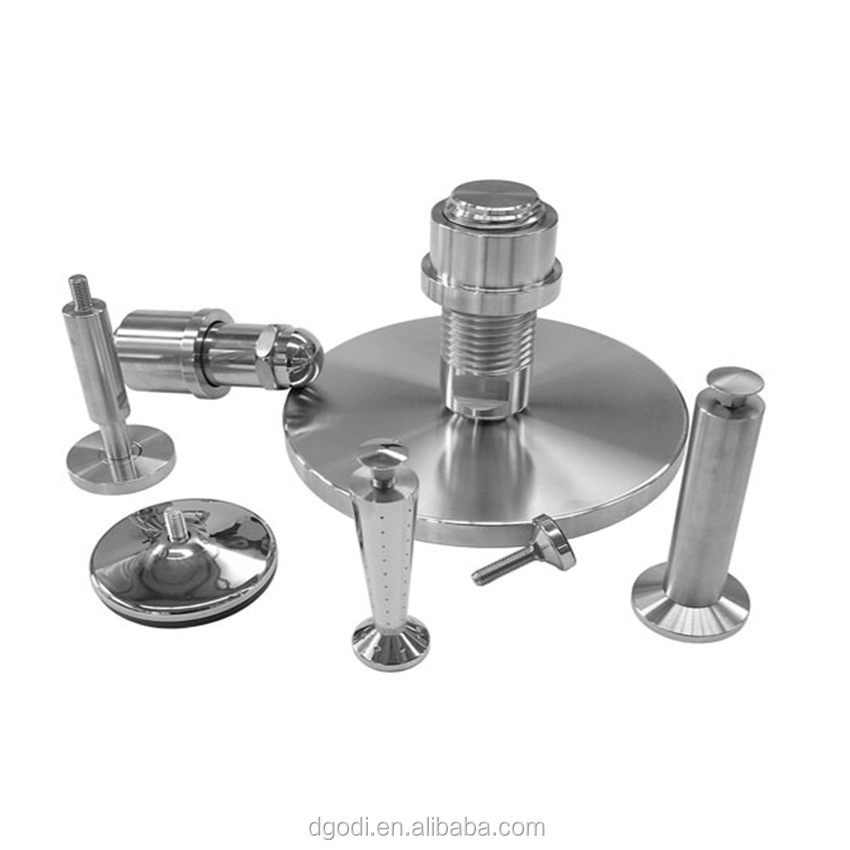 High Precision Customized Machine Feet, Stainless Steel Leveling Mount Feet