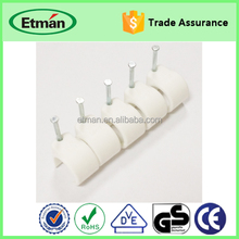 Nail Plastic Wall Cable Fixing Clip/Clamp