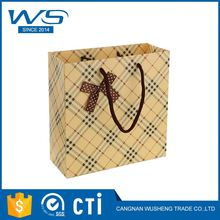 New product good quality logo printed foldable paper gift bag