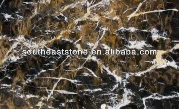 competitive Black and Gold granite