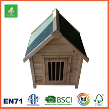Roof Openable Wooden Dog House
