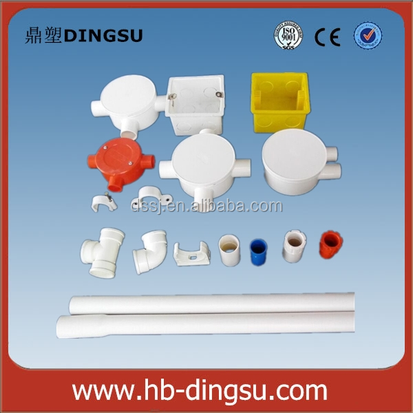 Customize /Colored 33mm ASTM/ BS/ DIN Wall Mount PVC Electrical Switch Box