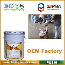 Wonderful adhesive PU 810 Concrete crack & joint sealing sealant/sealer