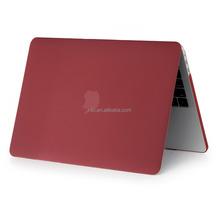 2016 Factory Price Wine Red Hard Laptop Case for New Macbook Pro, Computer Case Cover for Apple Macbook Pro